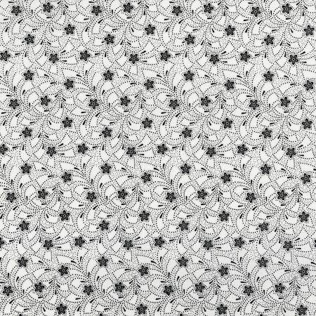 3318-002 Bare Essentials Deluxe - Flower Toss - Tuxedo Fabric