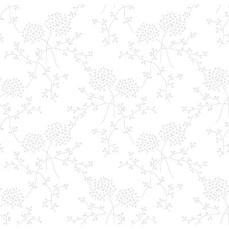 3322-001 Bare Essentials Deluxe - Starry Blooms - White Glove Fabric
