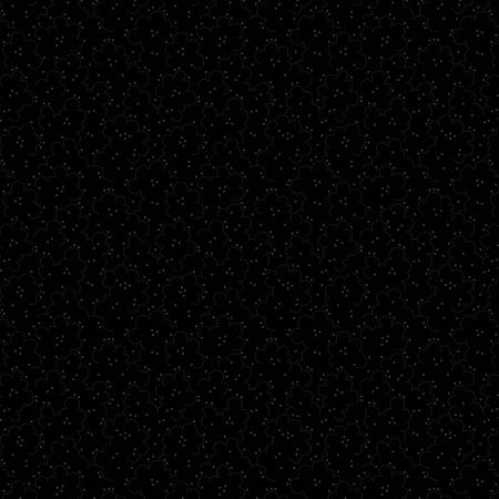 RJ501-BB4 Bare Essentials Deluxe - Peppered Popcorn - Black on Black Fabric