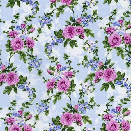 2914-004 Beverly Park - Melrose - Hydrangea Fabric