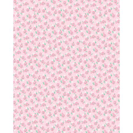 3598-001 Everything But The Kitchen Sink XIV - Apron Strings - Pastel Pink Fabric