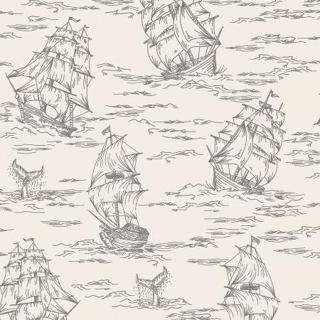 RJ2301-AS3 Smooth Seas - Voyage - Ash Fabric 1